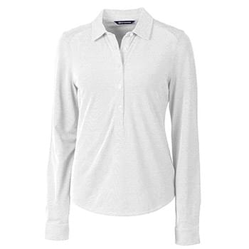 Alabama Crimson Tide Ladies' Reach Oxford L/S Popover