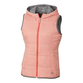 Stripe Cora Reversible Hooded Vest