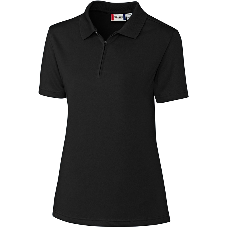 Malmo Snag Proof Zip Polo
