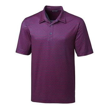 Pike Polo Herringbone Print