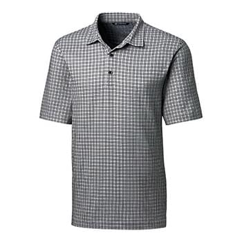 Pike Polo Small Plaid Print