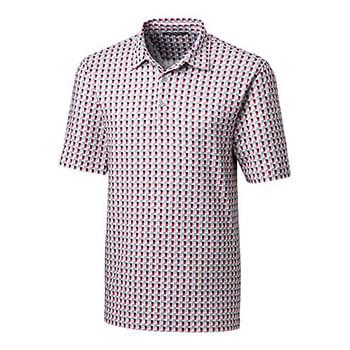 Pike Polo Checkerboard Print