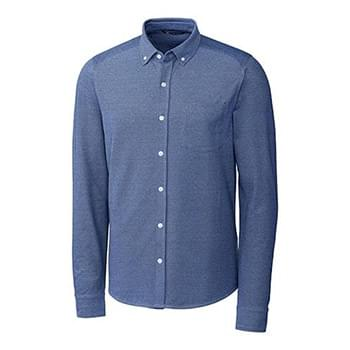 Reach Oxford Button Front L/S