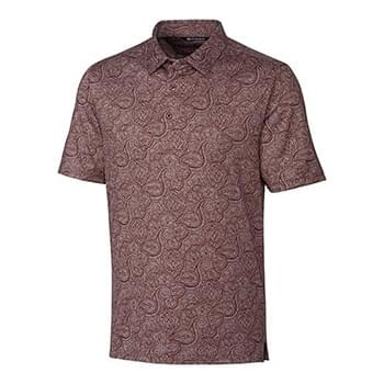 Forge Paisley Heather Print Polo
