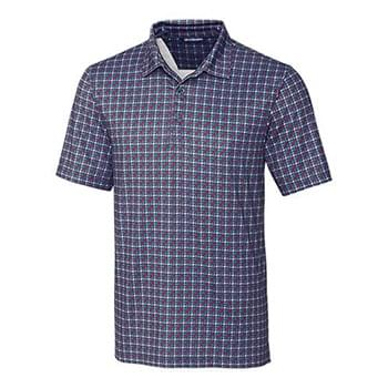 Pike Houndstooth Print Polo