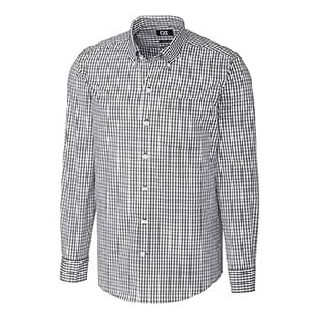 L/S Tailored Fit Stretch Gingham