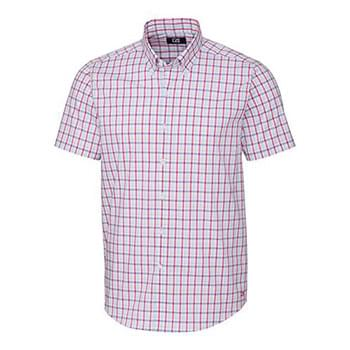 Soar Windowpane Plaid Short Sleeve
