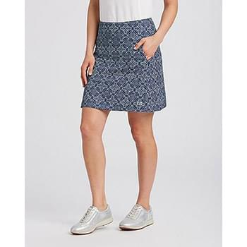 Allure Printed Pull On Skort